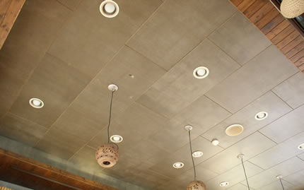 Ecoboard Projects - Interior Ceiling