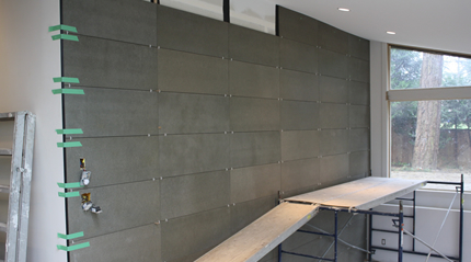 Ecoboard Projects - Interior Wall